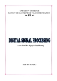 DIGITAL SIGNAL PROCESSING -  Assoc. Prof. Dr. Nguyen Huu Phuong