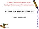 COMMUNICATIONS SYSTEMS Digital Communications