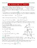 Đề thi Vật lý có đáp án -  Điện xoay chiều tổng hợp