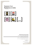 Insurance Law Regulations in India