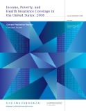 Income, Poverty, and Health Insurance Coverage in the United States: 2008