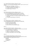 Ngân hàng câu hỏi vật lý lớp 8 có đáp án