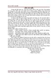 Luận văn: Nghiên cứu hệ thống điều khiển công đoạn nghiền liệu cho dây chuyền 2 nhà máy xi măng Hoàng Thạch