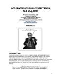 INTRODUCTION TO ECG INTERPRETATION V8.0 (July 2012)
