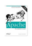 Apache: The Definitive Guide (3rd Edition)