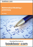 Mathematical Modeling I – preliminary
