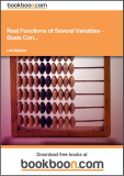 Real Functions of Several Variables - Examples of Basic Concepts, Examination of Functions, Level Curves and Level Surfaces, Description of Curves Calculus 2c-1