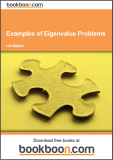 Examples of Eigenvalue Problems Calculus 4c-2
