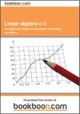 Linear Algebra Examples c-3 The Eigenvalue Problem and Euclidean Vector Space