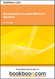 Book: An introduction to partial differential equations