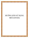 HƯỚNG DẪN SỬ DỤNG METASTOCK