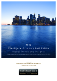 2012 Prestige MLS Luxury Real Estate Global Trends and Insights