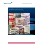 Foreign exchange investments discover the World of Currencies