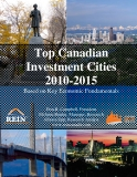 Top Canadian Investment Cities 2010-2015