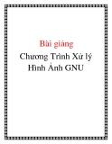 Chương Trình Xử lý Hình Ảnh GNU