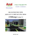 BỘ GIẢI PHÁP PHẦN MỀM KHẢO SÁT VÀ THIẾT KẾ CÔNG TRÌNH AND Design Version 7.2