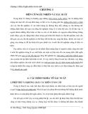 Chương 1. Biến cố ngẫu nhiên và xác suất