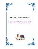 Luận văn:Tác động của các yếu tố đặc điểm cá nhân của người học đến việc đánh giá các hoạt động giảng dạy của giảng viên