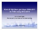 Kinh tế Việt Nam giai đoạn 2006-2011 2006 và Triển vọng 2012-2015 2012