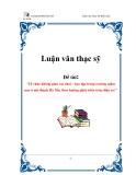 Luận văn:Tổ  chức không gian vui chơi – học tập trong trường mầm  non ở nội thành Hà Nội, theo hướng phát triển toàn diện trẻ