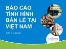Báo cáo tình hình bán lẻ ở Việt Nam