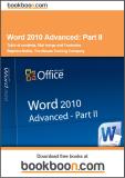 Word 2010 Advanced Part II