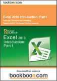 Excel 2010 Introduction Part I