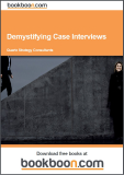 Demystifying Case Interviews