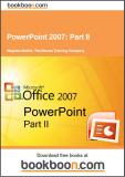 PowerPoint 2007 Part II