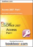 Access 2007 Part I