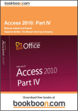 Access 2010 Part IV : Macros,import and export