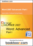 Word 2007 Advanced Part I