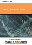 Tha Laplace Transformation II Complex functions theory c-12