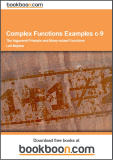 Complex Functions Examples c-9 The Argument Principle and Many-valued Functions