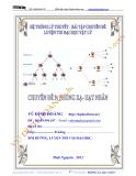 Hệ thống lý thuyết - bài tập chuyên đề luyện  thi đại  học vật lý 2013, chuyên đề 9: Phóng xạ - Hạt nhân