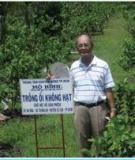 Cẩm nang quy trình trồng chăm sóc một số cây ăn trái và hướng dẫn lập kế hoạch sản xuất trong nông hộ, tổ, nhóm nông dân