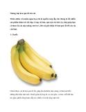 Những loại hoa quả tốt cho da
