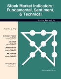 Stock Market Indicators: Fundamental, Sentiment, & Technical
