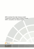 HMC Investment Securities Company Limited Fundamental Company Report Including Financial, SWOT, Competitors and Industry Analysis