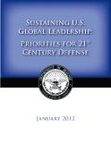Sustaining U.S. Global Leadership: Preiorities For 21st Century Defense