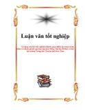 Luận văn:Sử dụng câu hỏi trắc nghiệm khách quan nhiều lựa chọn trong kiểm tra đánh giá kết quả học tập môn Tiếng Việt lớp 10 Ban cơ bản tại trường Trung học Chuyên tỉnh Kon Tum