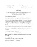Quyết định số 185/QĐ-QLD