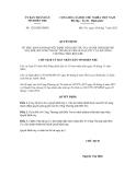 Quyết định số  1292/QĐ-UBND