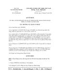 Quyết định số 186/QĐ-QLD