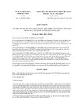 Quyết định số 1910/QĐ-UBND