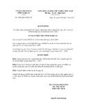 Quyết định số 2508/QĐ-UBND.VX