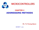 MICROCONTROLLERS - CHAPTER 2:  ADDRESSING METHODS