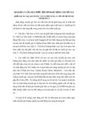 SỰ QUẢN LÝ CỦA NHÀ NƯỚC ĐỐI VỚI HOẠT ĐỘNG CHUYỂN GIÁ