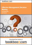 Effective Management Decision Making An Introduction