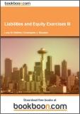 Liabilities and Equity Exercises III